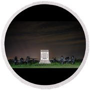 5th Massachusetts Battery Round Beach Towel