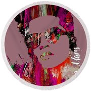 Bruno Mars Collection Round Beach Towel