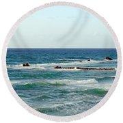 Jaffa Beach 4 Round Beach Towel