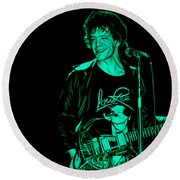 Lou Reed Collection Round Beach Towel