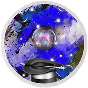 Magic Collection Round Beach Towel