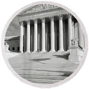 Supreme Court Of The Usa Round Beach Towel