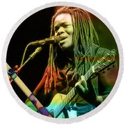 Tracy Chapman Collection Round Beach Towel by Marvin Blaine