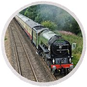60163 Tornado At Tupton Round Beach Towel