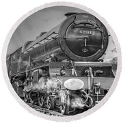 6201 Princess Elizabeth At Swanwick Round Beach Towel