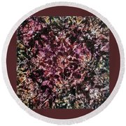 66-offspring While I Was On The Path To Perfection 66 Round Beach Towel