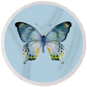 68 Laglaizei Butterfly Round Beach Towel