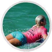 Bethany Hamilton Round Beach Towel