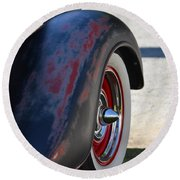 Classic Ford Pickup Round Beach Towel by Dean Ferreira