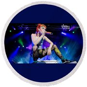 Hayley Williams Round Beach Towel