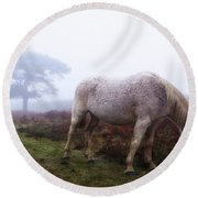 New Forest - England Round Beach Towel