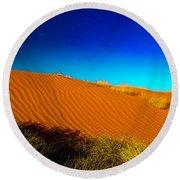 Sand Dune Round Beach Towel