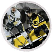 Sidney Crosby Round Beach Towel