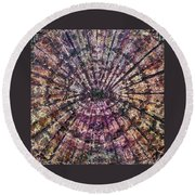 71-offspring While I Was On The Path To Perfection 71 Round Beach Towel