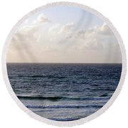 Jaffa Beach 1 Round Beach Towel