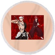 Bleach Round Beach Towel