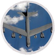 A B-52 Stratofortress Round Beach Towel