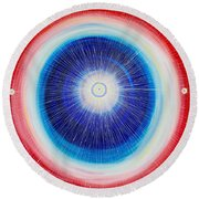 Imagination Round Beach Towel