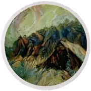 A Chance In The World Movie Dark Barn Crowded Into A Gully Between A Large Rocky Hill And A Grove Of Round Beach Towel by Mendyz