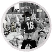 A Coney Island Of The Mind, Baby Round Beach Towel