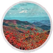 A Day Forever Round Beach Towel