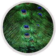 A Different Point Of View Round Beach Towel by Elaine Malott