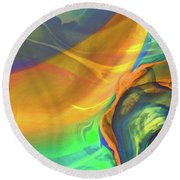 A Dream Within Round Beach Towel