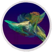 A Fleeting Moment Round Beach Towel