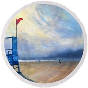Provide, Provide, Peru Impression Round Beach Towel