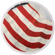 A Little Glory Round Beach Towel