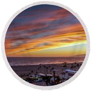 A Night Out At The Jonathan Round Beach Towel