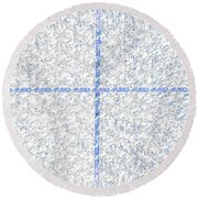 A Place For You Round Beach Towel