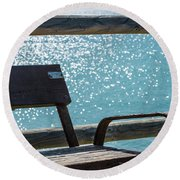 A Place Round Beach Towel