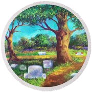 A Remembrance Round Beach Towel