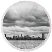 A Rotten Day In Buffalo  9230 Round Beach Towel