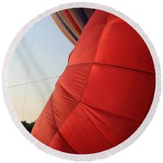 A Sense Of Scale Round Beach Towel