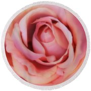 A Silk Rose By Any Other Name Round Beach Towel