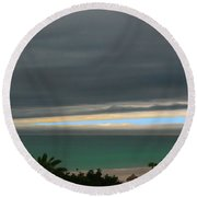 A Sliver Of Hope Round Beach Towel