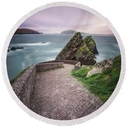 A Song For Ireland Round Beach Towel