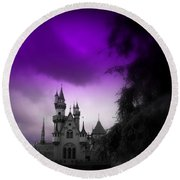 A Spell Cast Once Upon A Time Round Beach Towel