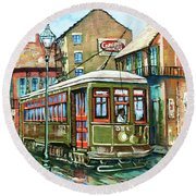 A Streetcar Named Desire Round Beach Towel