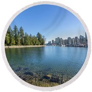 A Tale Of Two Cities Round Beach Towel