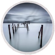A Test Of Time Round Beach Towel by Jorge Maia
