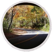 A Well Rounded Perspective Round Beach Towel by Lamarre Labadie
