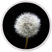 A Wish For You Round Beach Towel