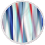 Round Beach Towel featuring the digital art Ambient 12 by Bruce Stanfield