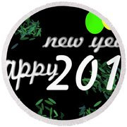 About New Year Round Beach Towel
