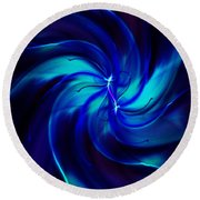 Abstract 070810 Round Beach Towel