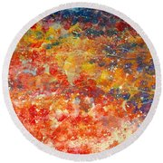 Abstract 2. Round Beach Towel