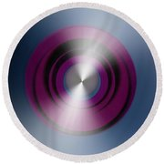 Abstract 3035-8 Round Beach Towel